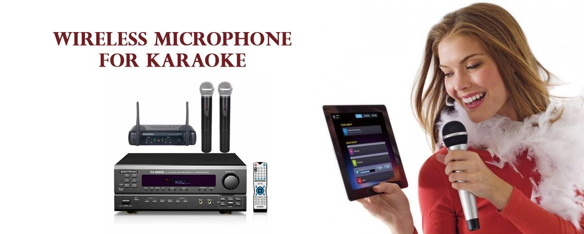 Get a Wireless Microphone For A Better Karaoke Setup